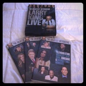 💿LARRY KING LIVE💿THE GREATEST INTERVIEWS EUC